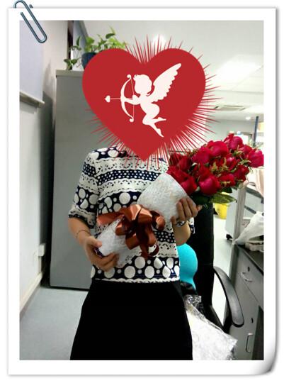花美家 生日鲜花速递同城 玫瑰花 全国预定送花 19朵红玫瑰花束 满天星北京上海广州深圳花店 99朵蓝色妖姬花束 平日价 晒单图