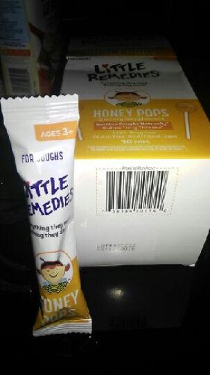 Little remedies 香港发货美国Little Colds天然顺势蜂蜜舒咳棒棒糖一盒10支 天然蜂蜜天然顺势儿童宝宝蜂蜜糖浆棒棒糖 晒单图