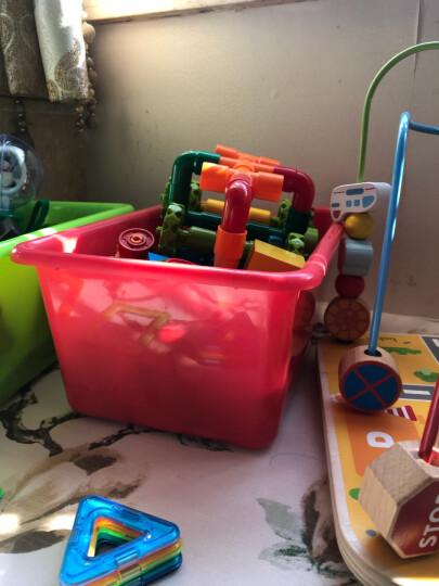 【送补充包】芙蓉天使弯管水管道积木套装七彩塑料拼插幼儿园立体拼插积木男女孩玩具 32件袋装 晒单图