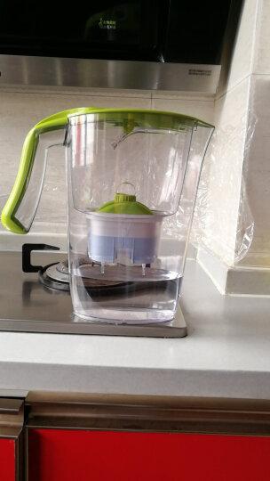 莱卡(LAICA)过滤净水器1壶7芯 J432H-BM矿物质平衡免掀盖双导流2.3L 母婴级健康净化家用滤水壶净水壶 晒单图