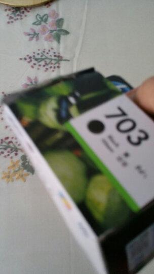 惠普(HP)CD888AA 703号彩色墨盒(适用DJ F735 D730 K109a/g K209a/g Photosmart K510a) 晒单图