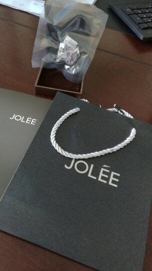 JOLEE 胸针 天然水晶胸花S925银别针晚礼服晚宴彩色宝石配饰品送女生礼物 晒单图