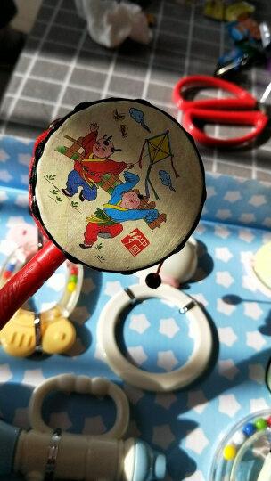 谷雨婴儿玩具0-1岁新生儿可咬牙胶摇铃手摇铃 3-6-12个月幼儿宝宝床上玩具罐装盒装摇铃 赠品勿拍 拨浪鼓1个 晒单图