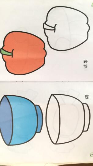 赠1盒蜡笔】涂色书画画本儿童3-6岁绘画本2套任选共20册美术涂鸦本宝宝填色益智图书幼儿左右脑思维游 宝宝涂色(12册装) 晒单图