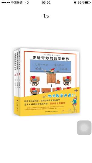 童书 走进奇妙的数学世界(套装共3册) 安野光雅著 3-6岁幼儿启蒙益智互动游戏书 晒单图