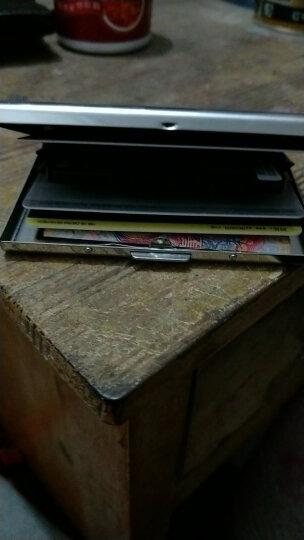 injoylife男士卡包 不锈钢金属卡夹 超薄男式多卡位卡包 银行卡套 镜面 晒单图