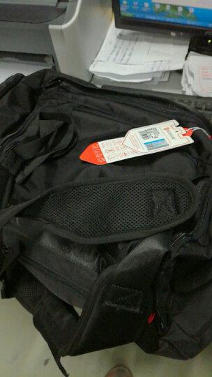 瑞士瑞戈旅行包大容量健身包休闲运动训练包时尚单双肩手提包男女斜挎行李商务出差旅行袋 黑色|(可手提/双肩) 晒单图