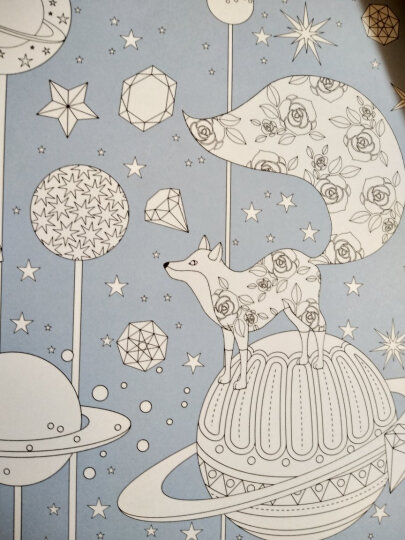 奇幻梦境:一本漫游奇境的手绘涂色书 晒单图