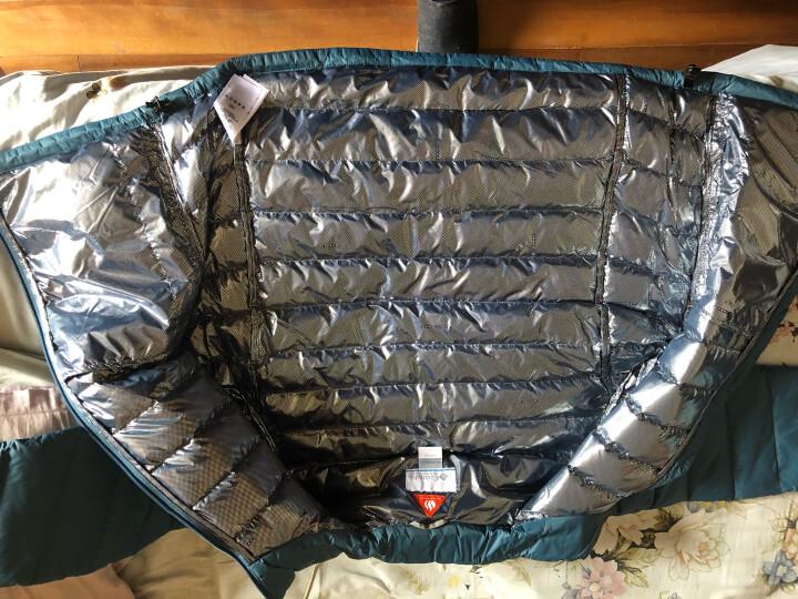 Columbia 【经典款】哥伦比亚户外男款700蓬热能保暖羽绒服PM5994 407 L 晒单图