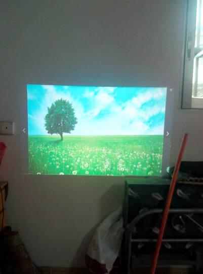 轰天炮 LED86 投影仪家用高清1080P投影机智能办公手机无线wifi 3D投影仪 LED-86+升级官方标配 晒单图