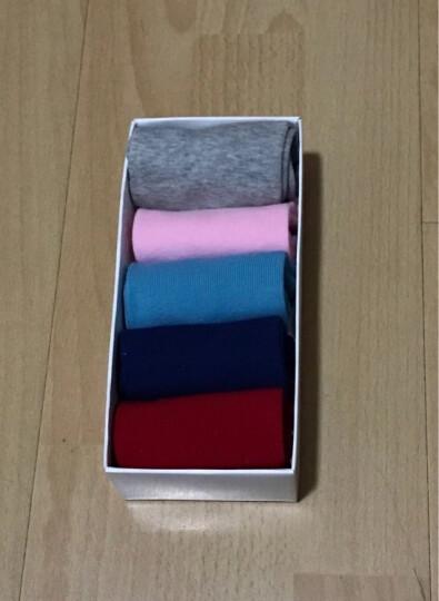 宝娜斯(BONAS)儿童袜子男童女童宝宝棉袜秋冬季保暖袜子5双装 10-12岁 QD15-11 晒单图