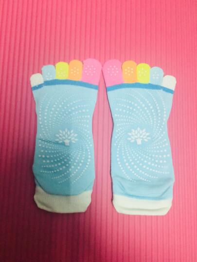 奥义 瑜伽袜 弹性防滑颗粒五指袜 舒适按摩半指吸湿透气亲肤 瑜伽垫搭配伴侣 藏蓝五趾袜 晒单图