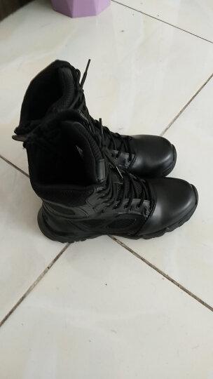 作战靴超轻透气16作训鞋cqb战术靴陆战靴空降靴特战靴防水防滑耐磨登山鞋军勾靴 特战博士靴 40=250 晒单图