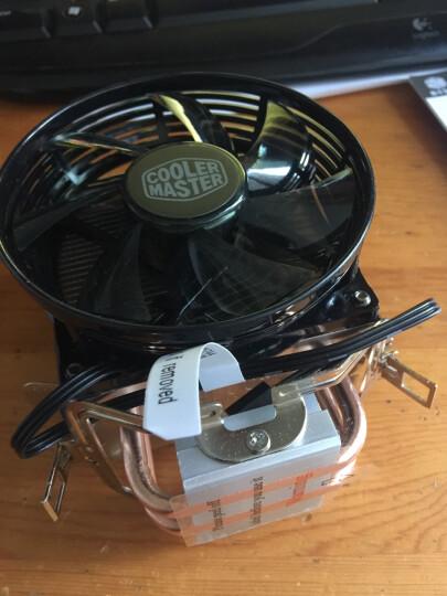 酷冷至尊(Cooler Master) T20 CPU 散热器(支持多平台/2热管/传Fin工艺/80mm低噪风扇/可拆装扣具/直触热管) 晒单图