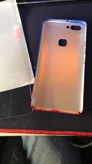法芘兔 vivox20手机壳全包防摔男女磨砂硬壳时尚个性保护套 适用于x20 plusA x20plus-灰橙撞色 晒单图