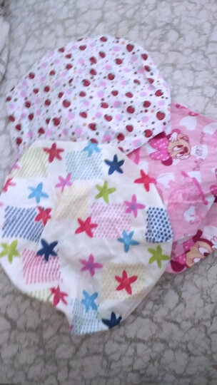 嘉乐宝杰斯卡 童装 儿童棉三角巾 婴儿口水巾 围巾宝宝扎头巾 儿童包头巾 小孩围嘴 女宝宝随机 晒单图