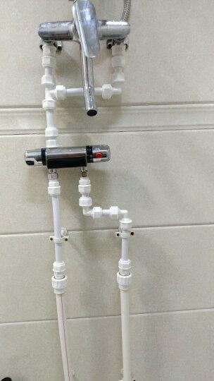 尊驰卫浴精铜恒温明装混水阀淋浴浴缸水龙头Z-3077A 晒单图