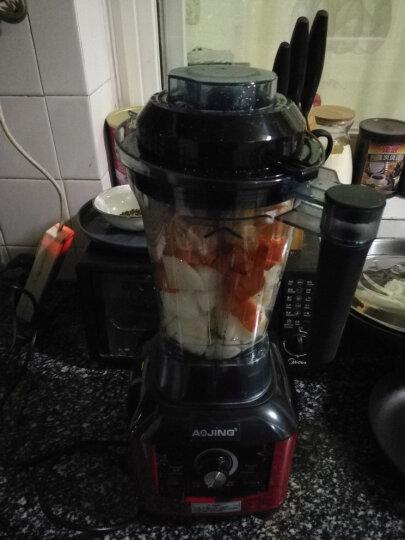 德国(AOJING) 奥劲破壁料理机榨汁机家用破壁机多功能 绞肉机搅拌机果汁机 浅红色 晒单图