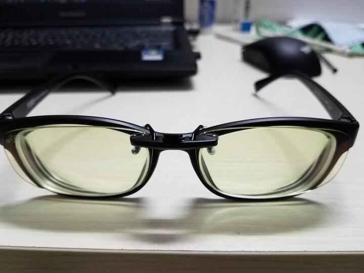 科莱多防辐射防蓝光眼镜夹片男女款 近视眼镜夹片电竞游戏电脑护目平光镜 小号方形夹片-镜片尺寸5.7*3.2cm 晒单图