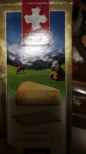 瑞慕(Swissmooh)埃曼塔大孔奶酪 瑞士风味芝士 200g(干酪) 晒单图