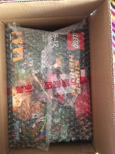 乐高官方旗舰店 17年新品超级英雄系列 积木拼插玩具 5岁+ 美国队长喷气式飞机追捕76076 晒单图