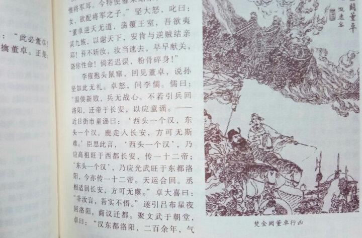 正版 四大名著之 三国演义白话版 国学藏书原著 半白话 文言文注释  四大名著原版 晒单图