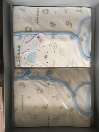 南极人(Nanjiren) 南极人婴儿衣服新生儿礼盒套装满月礼盒0-6月宝宝内衣 秋冬-猫头鹰卡其 18件套 52-66cm(0-6个月) 晒单图