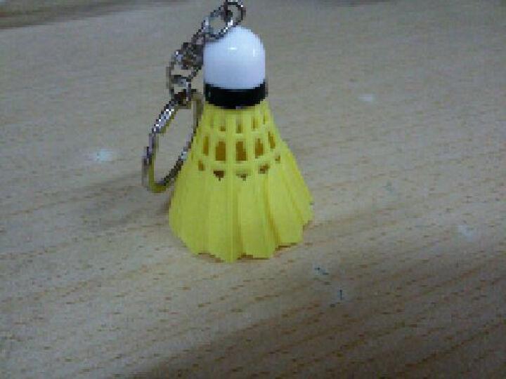 佛雷斯羽毛球小挂件迷你饰品钥匙扣仿真羽毛球 随机颜色一个 晒单图