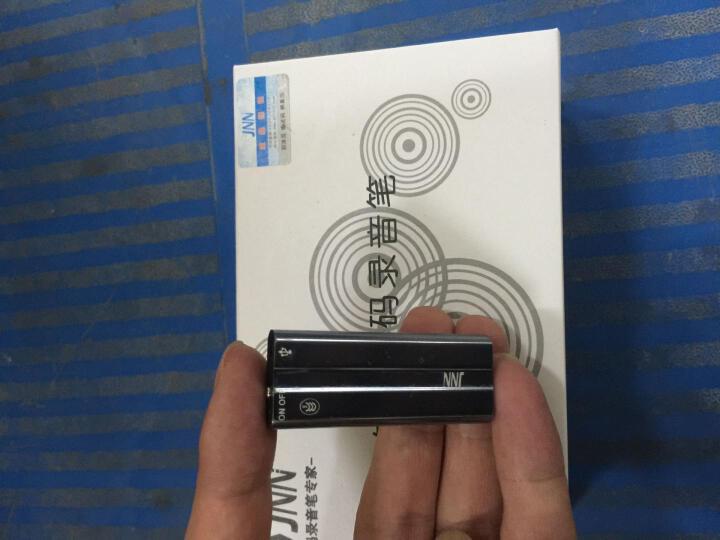 JNN Q50远程定位器 录音笔微型专业采访学习会议 高清远距降噪正品声控录音 mp3 加强版16G录音208小时加密声控时间戳 晒单图