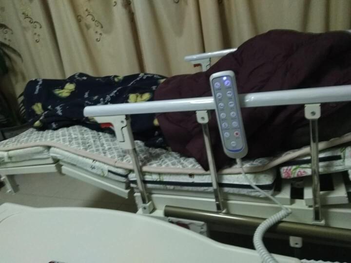 长寿泉  护理床家用老人医疗床手动电动多功能瘫痪病人用床 手电一体D08 晒单图