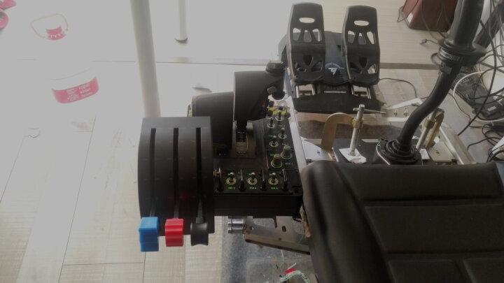 罗技(G)Flight Rudder Pedals带脚尖制动模拟控制器的专用方向舵踏板 飞行模拟 晒单图