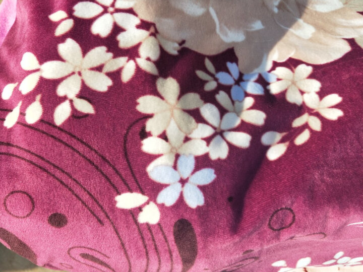 喜连理四件套 水晶绒四件套 加厚保暖法莱绒珊瑚绒法兰绒短毛绒天鹅绒双面绒磨毛四件套 YLX-盛世繁华 被套220x240床单245x265枕套一对 晒单图