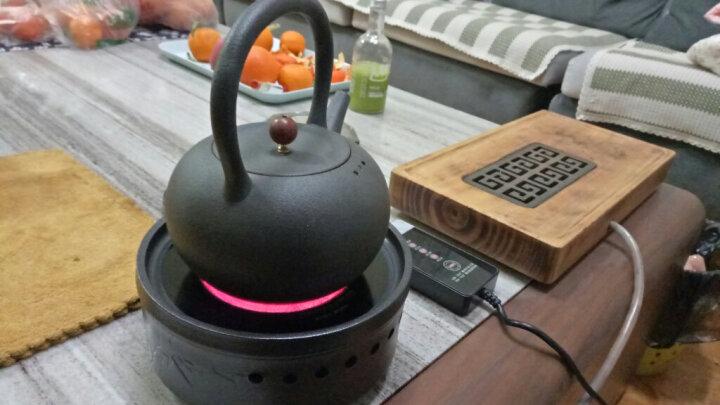 晨茗 电陶炉茶壶套装大容量烧水壶煮茶器铸铁壶陶壶茶炉黑茶养生泡茶壶 五行壶(单壶不含炉子) 晒单图