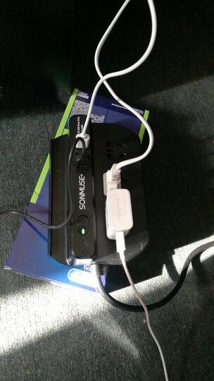 声缪斯(SONMUSE)SF-3NPBU3-2.5 守护大师 3.4A USB插排 桌面插座 接线板2.5米 钢琴黑 晒单图