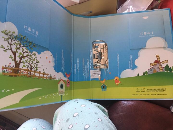 乾越(qianyue)0-6岁宝宝成长纪念册母亲节礼物520送女友手工diy纪念礼品相簿儿童生日礼物创意影集天空之城款 晒单图