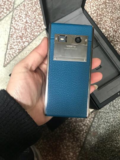 VERTU 纬图 ASTER T 系列奢华手机高端商务4G智能手机 特色手机 泻湖蓝小牛皮 晒单图