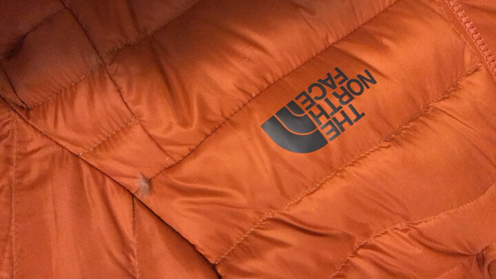 TheNorthFace北面秋冬新品700蓬户外运动男北面羽绒服外套|35E7 P3N/橙色 M 晒单图