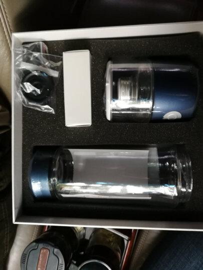 华阳新利 日本水素水杯富氢水杯电解弱碱性氧分离负小子养智能机生成器新品 蓝色 晒单图