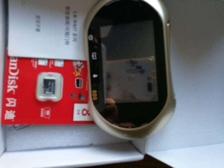 朗瑞特 (LENRIT)智能wifi电子猫眼无线手机监控语音对讲可视门铃摄像头报警器 晒单图