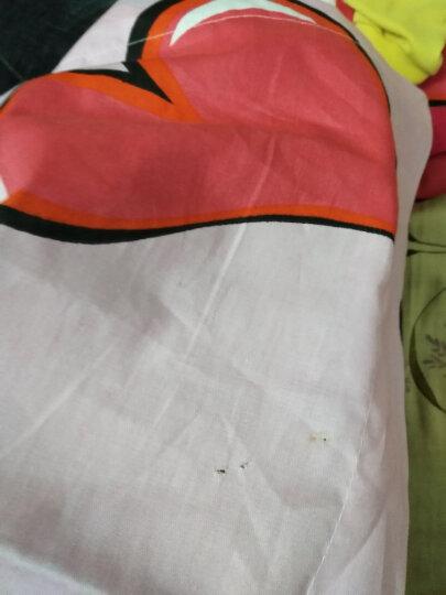 越发家纺  四件套 全棉床单被套被罩单床品套件三件套4件套纯棉H 真爱永恒 1.2米被套1.6*2.1床单1.6*2.3 晒单图
