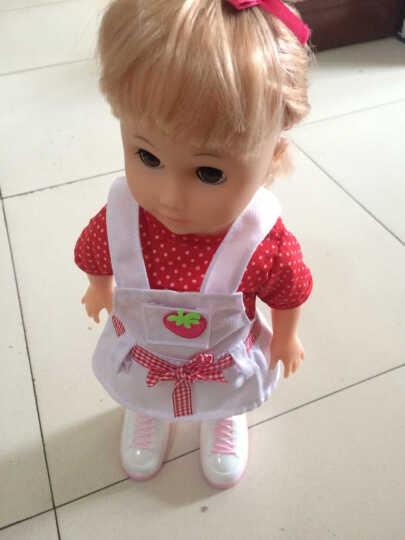 超级逗逗 会说话的智能娃娃 儿童玩具女孩洋娃娃 会跳舞走路眨眼 第3代 1号 晒单图