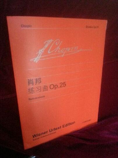肖邦〈练习曲〉Op.25(维也纳版) 晒单图