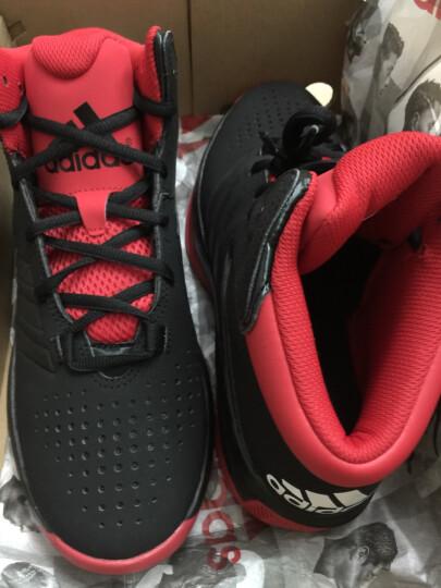 阿迪达斯adidas 官方 篮球 男子 场上款篮球鞋 1号黑色 S85584 如图 43 晒单图