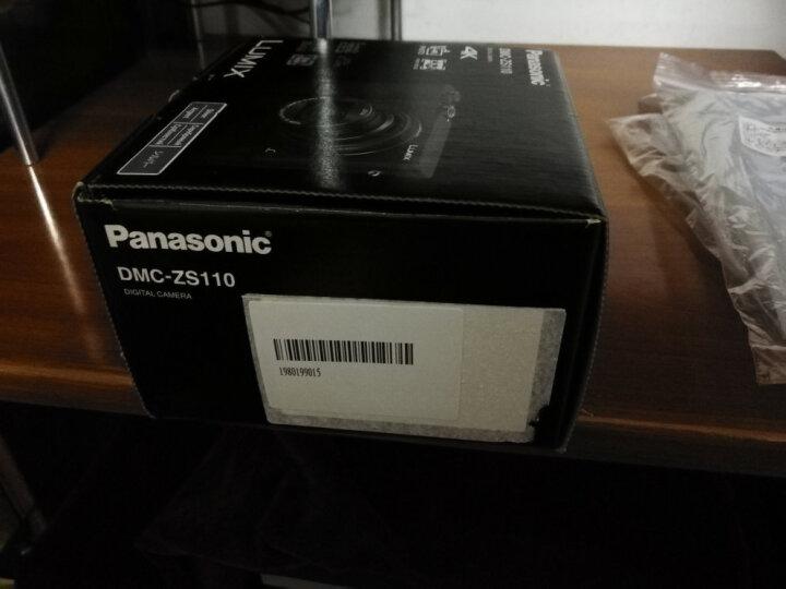 Panasonic松下 Lumix DMC-ZS110 / DC-ZS220 便携4K长焦数码相机 ZS110 银色 晒单图