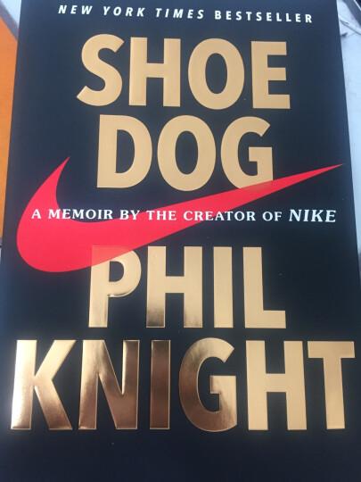 Nike 鞋狗 Shoe Dog 英文原版 phil knight 耐克回忆录 精装 正版 晒单图