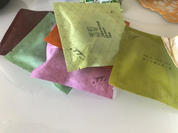 chali茶里花茶组合 茶包 花草茶 玫瑰花茶 茉莉花茶 红茶绿茶普洱茶 袋泡茶9包 晒单图
