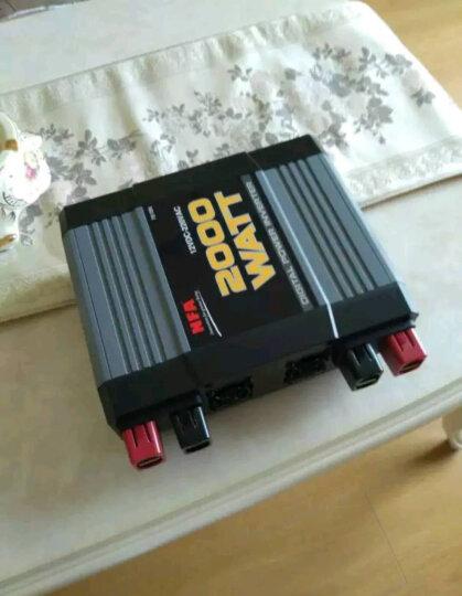 NFA纽福克斯车载逆变器12v/24V转220v车载变压器大功率电源转换器 7817V 1500W-24V 晒单图