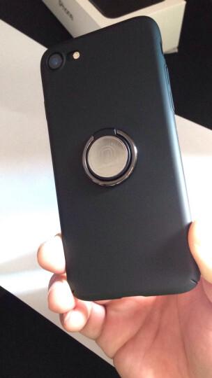 KOOLIFE 苹果7/8手机壳保护套 苹果iphone8/7创意支架手机套 苹果8/7磨砂硬壳防摔壳男女款-黑色 晒单图
