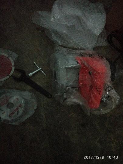 百臣 石材切割机 云石机木材瓷砖混凝土开槽机家用电锯 110石锯片 晒单图