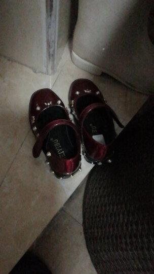 素郡主 女童鞋四季老北京儿童绣花鞋布鞋民族风古装汉服演出舞蹈软底单鞋 SJZ 16X-0 B05绿 31 晒单图